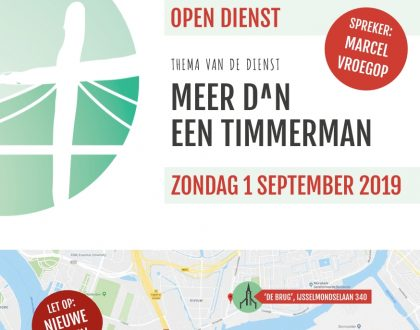 Brug010 Open dienst 1 september